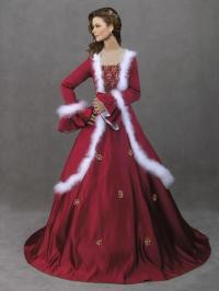 Christmas Wedding Dresses Ideas - InspirationSeek.com