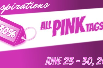 June Pink Tags 30% OFF