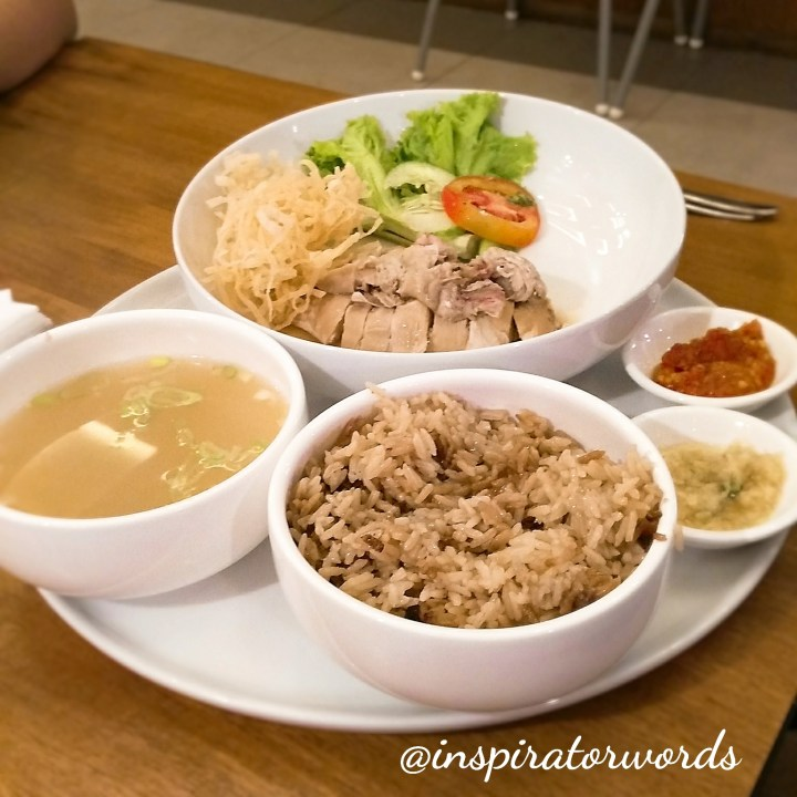 hainanese chicken rice sinapi