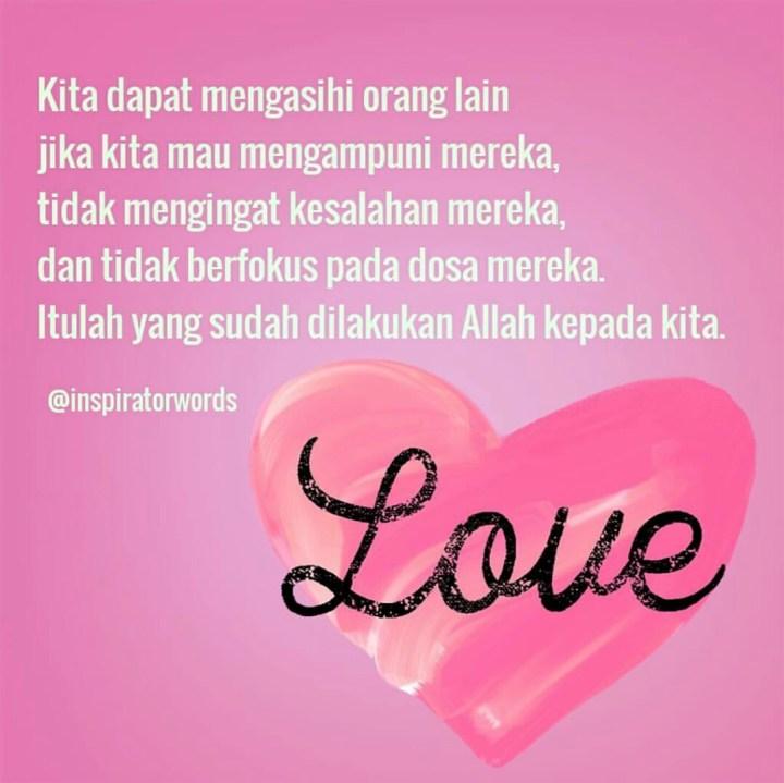 mengasihi orang lain