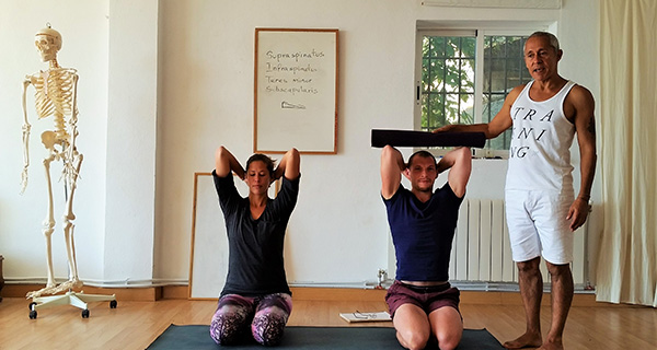 1 year, 200 hour yoga teacher training course in London. Final week in Spain