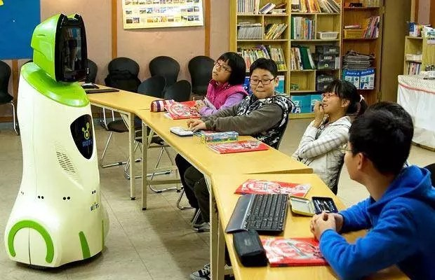 Would robots replace teachers in the near future?