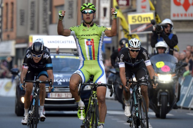 Peter Sagan wins the 2014 E3 Harelbeke