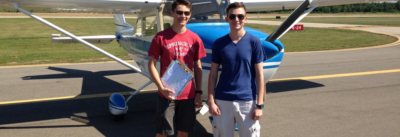 New Pilot Flies Young Eagles One Year After His First Ride