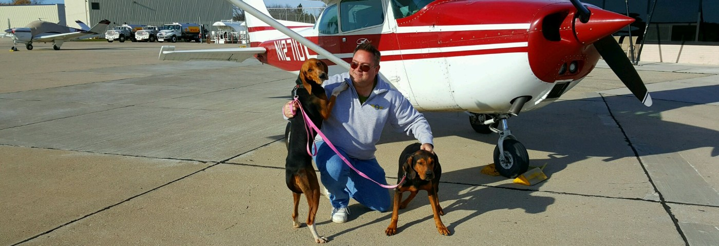 Hal Bryan – First Pilots N Paws Flight Milestone