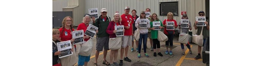 Print/Mail Volunteers Deliver AirVenture Newspapers