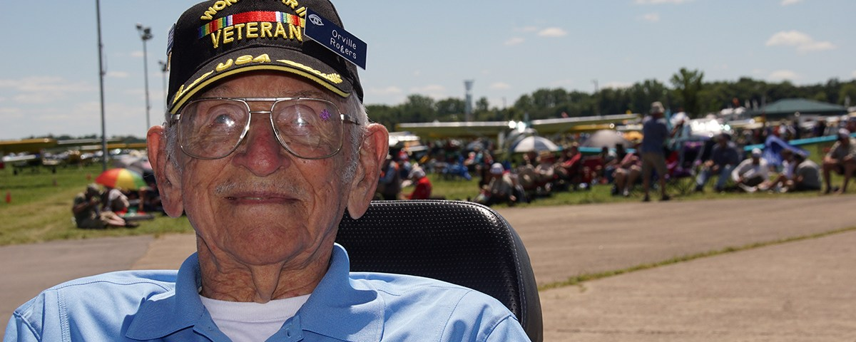 First AirVenture at 99 Years Old and Looking Forward to Next
