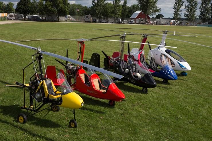 Great Big Gyroplane Grins — The Modern Resurgence of a