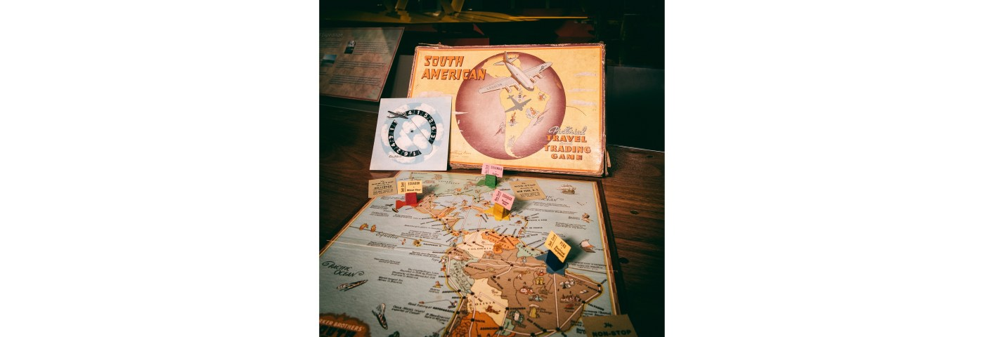 EAA's Attic — South American Pictorial Travel and Trading Game