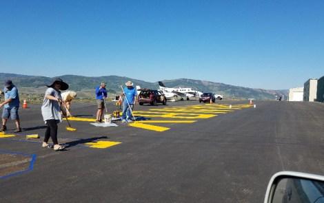 Chapter 1267 Creates Airmarked Runway Art