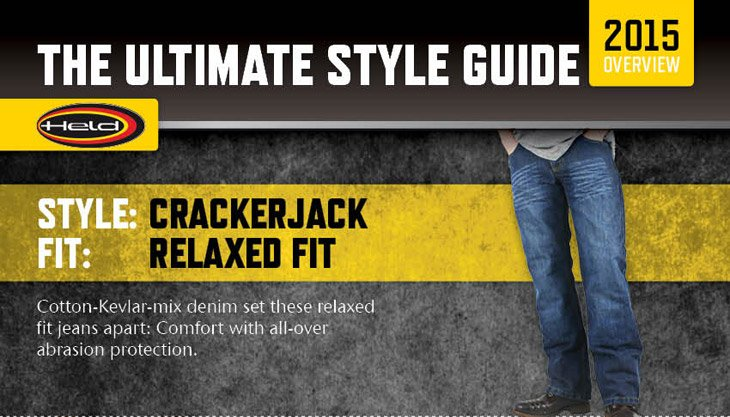 The Held 6269 Crackerjack Kevlar Jeans