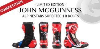John McGuinness Alpinestars Supertech R Competition