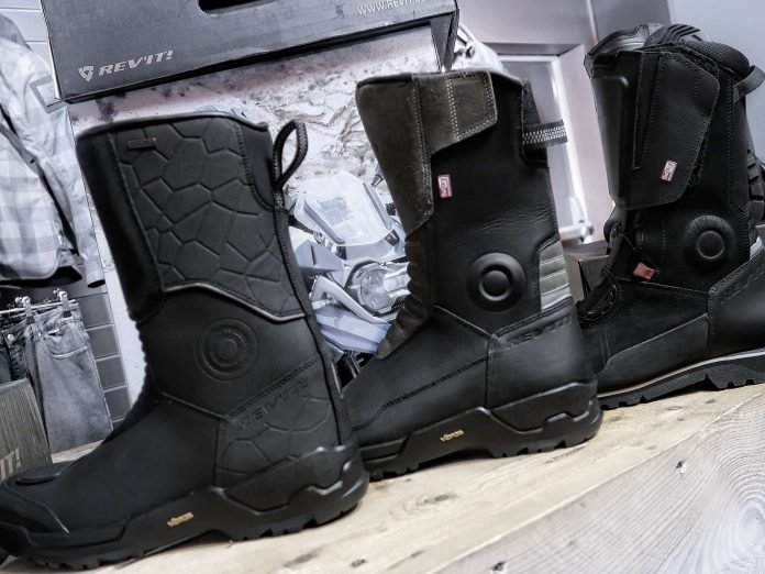 Adventure Motorcycle Boots from Rev It!  Review  - Inspire 6f846d7d1