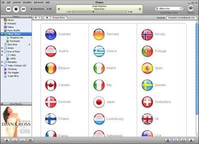 Screenshot of iTMS