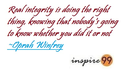 Doing The Right Thing Inspire 99