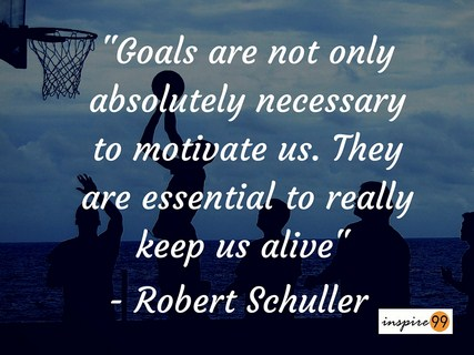 Goals Are Not Only Necessary To Motivate Us They Are Essential To