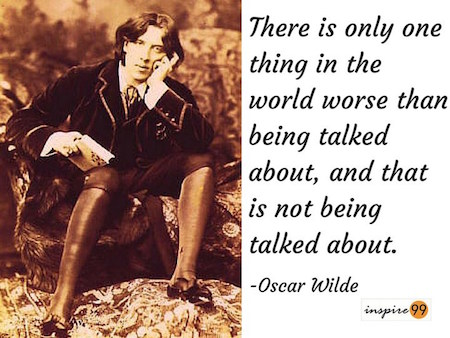 oscar wilde quote analysis, oscar wilde quote meaning, oscar wilde not being talked about