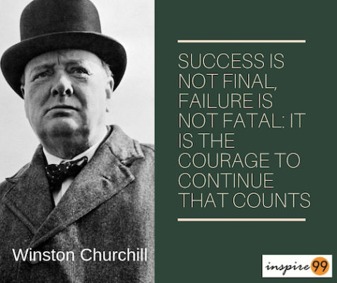 Winston Churchill Quotes ~ QuotesTank |Powerful Quotes About Failure Churchill