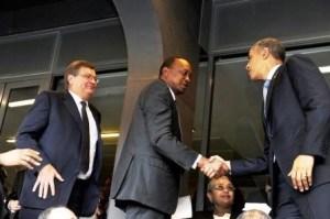 Kenyata and Obama