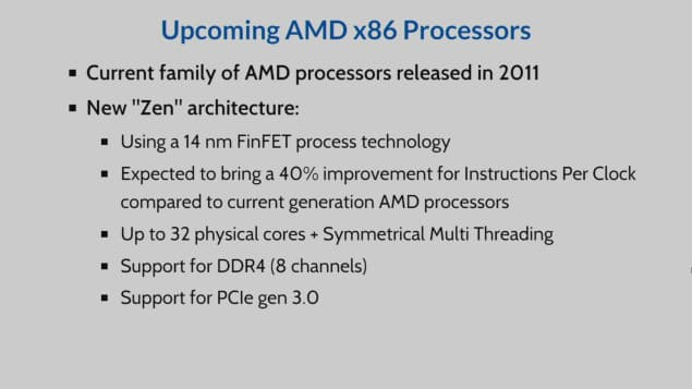 AMD Opteron Processor on Zen Architecture Unveiled - Arun N