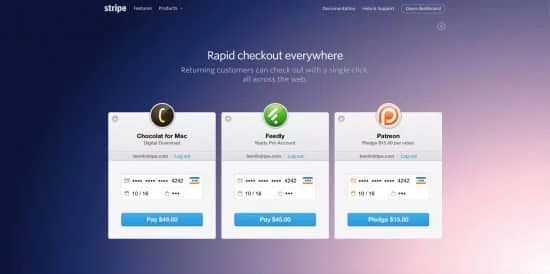 stripe payment gateway checkout image