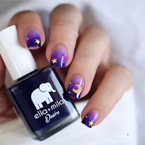 lilac nail designs