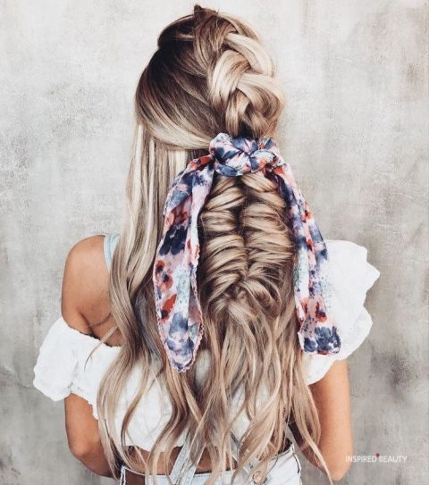 Braid hairstyles for Winter