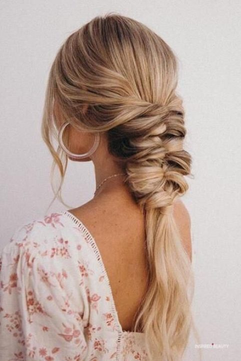 Topsy braid hairstyles for winter