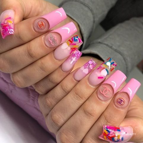 20 best acrylic nail designs 2020  inspired beauty