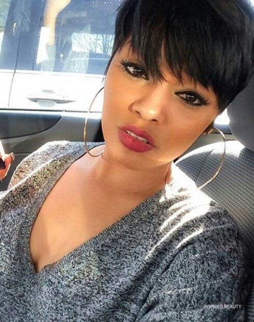 short haircut that looks awesome on black woman