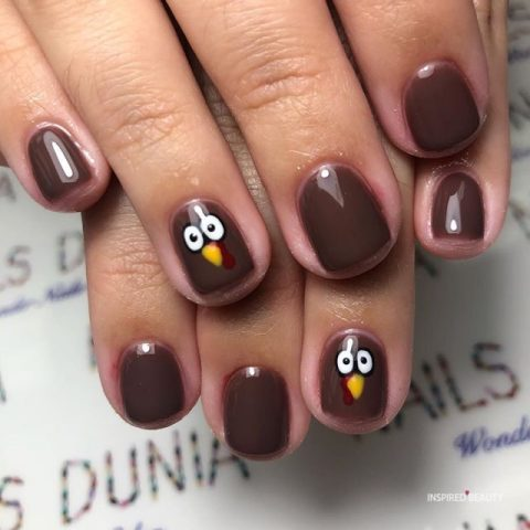 thanksgiving designs for nails