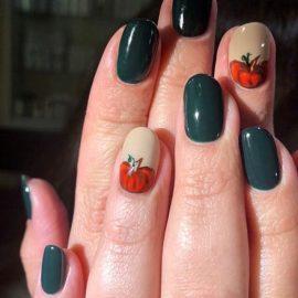 Thanksgiving nails