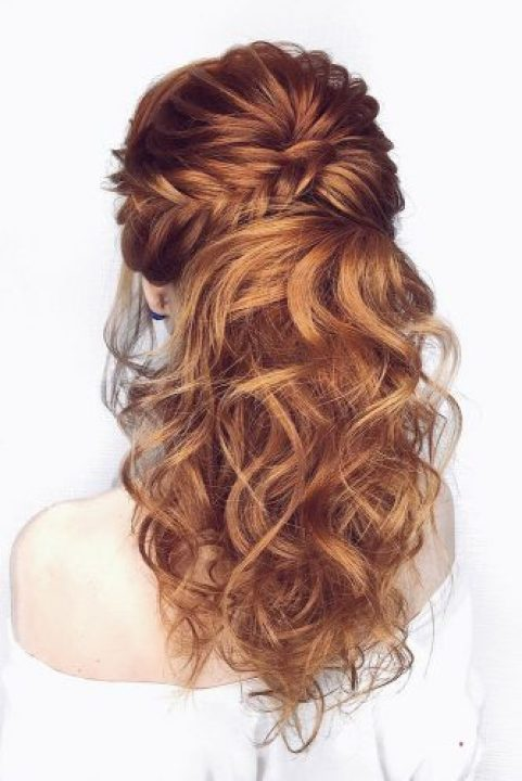 Half Up Half Down Wedding Hairstyles ( 32 Photos)