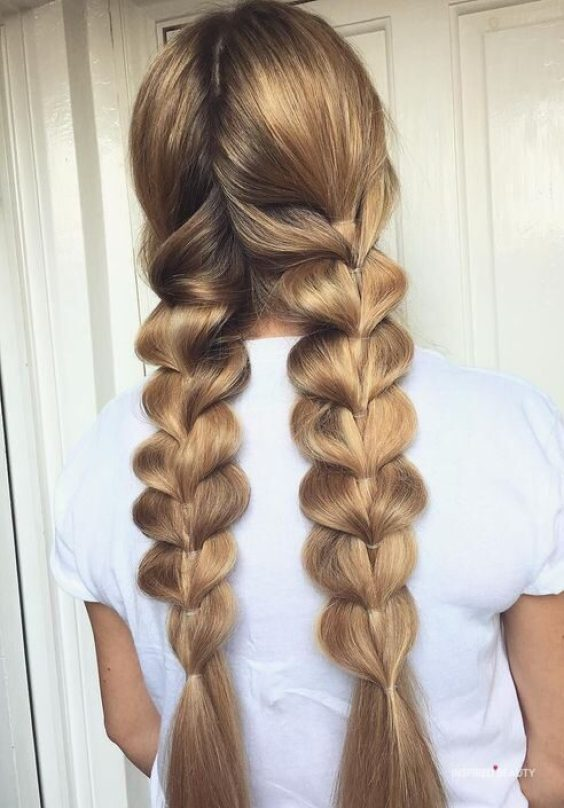 cute braid hairstyle