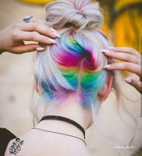 mermaid hair color surprise