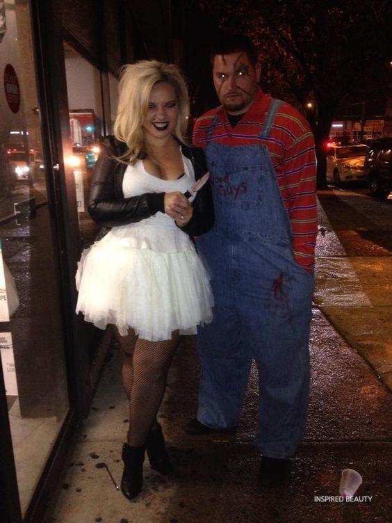 Chucky and Tiffany . Bride of Chucky