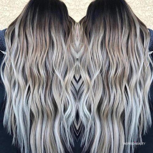 Long Balayage Hair Blonde