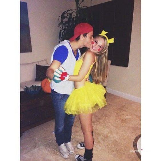 ash and pikachu halloween costumes