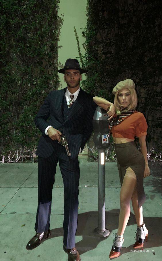 mafia halloween costumes for couples