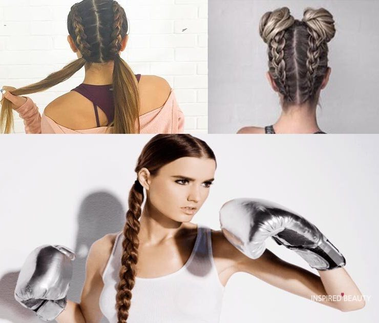 Sporty hairstyles for your workout