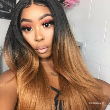 Hair Color for Black Skin Woman