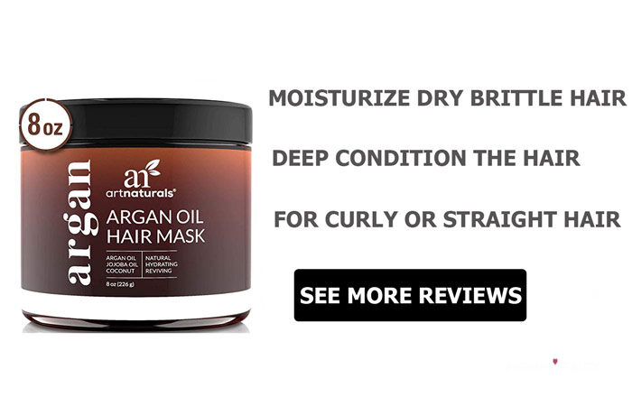Argan Oil Hair Mask for frizz control