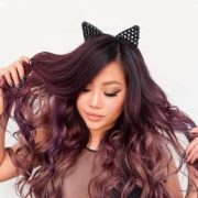 CHOCOLATE LILAC HAIR IDEAS
