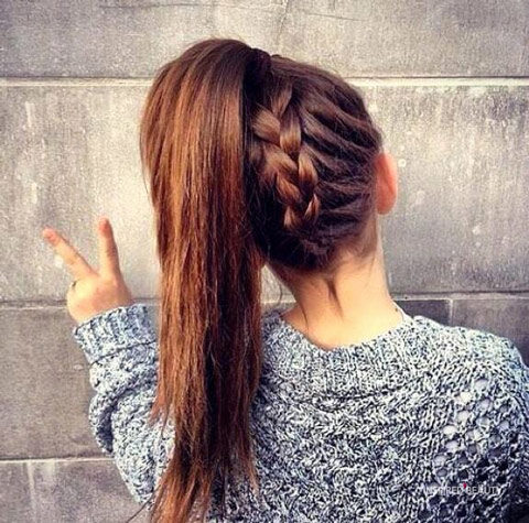 Braided Hairstyles for School Easy