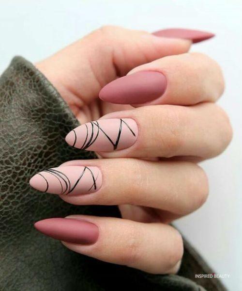 Pretty Pink Nails