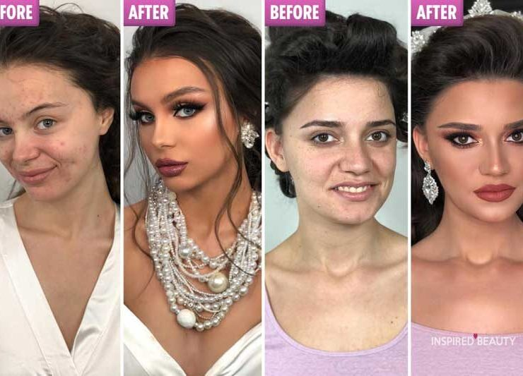 Before and After Makeup Transformation 20 photos