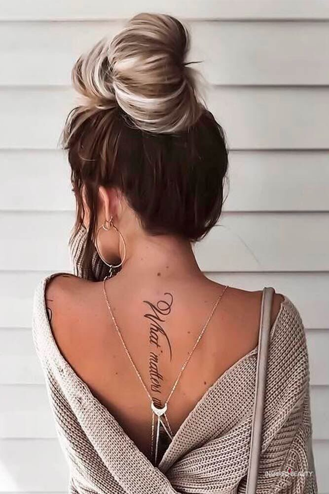 Check Some Coolest Back Tattoos For Women   Fashionterest