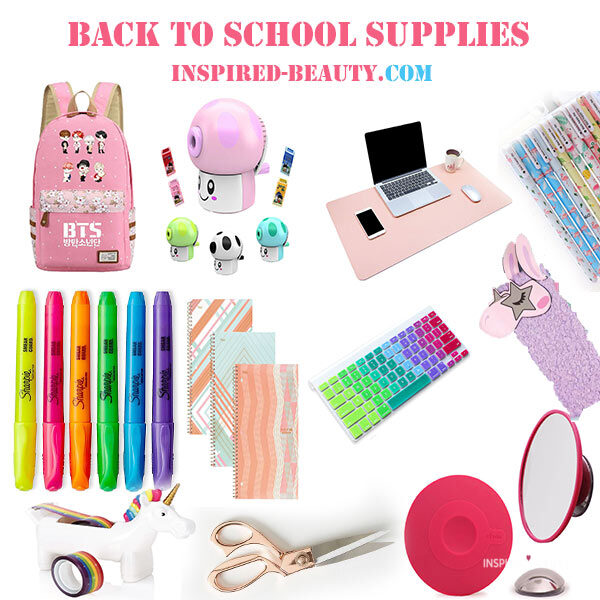 cute school supplies for girls