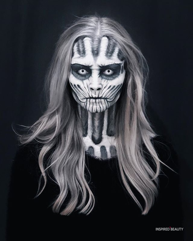 Skull Makeup and Face paint