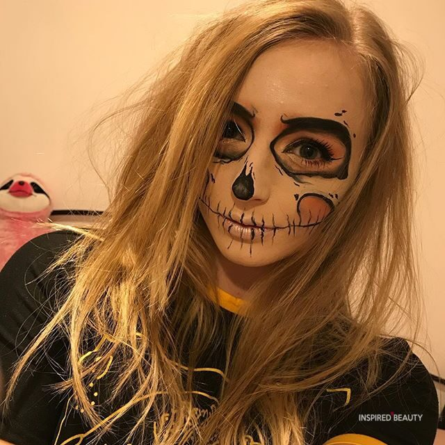 Cute Skull makeup